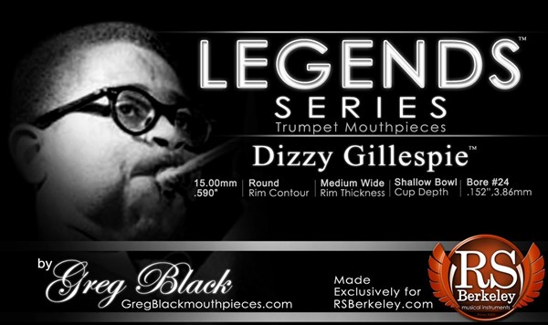 Picture of RS Berkeley Legends Series - Dizzy Gillespie Mundstück