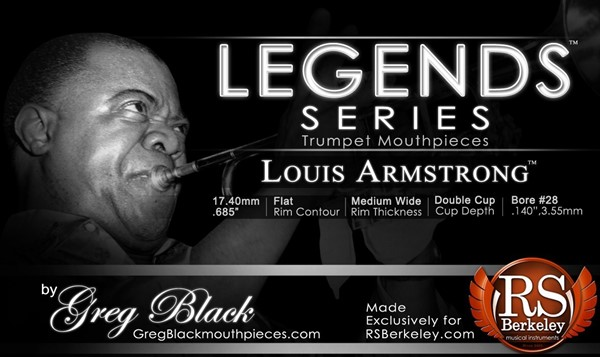 Picture of RS Berkeley Legends Series - Louis Armstrong Munstück