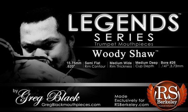 Picture of RS Berkeley Legends Series - Woody Shaw Mundstück