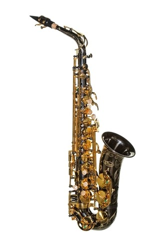 Picture of Virtuoso Alto Saxophone, Black Nickel, VIRT1004B