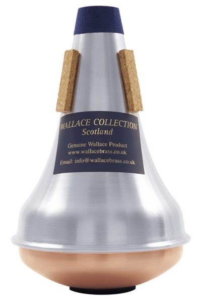 Picture of WallaceBrass, TWC 332 Aluminium Eb Trumpet Straight, Copper Bottom