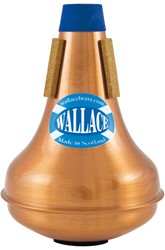 Picture of WallaceBrass, TWC 334 Copper Eb Trumpet Straight